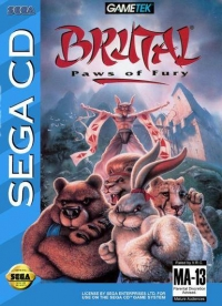 Brutal: Paws of Fury Box Art