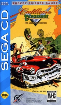 Cadillacs and Dinosaurs: The Second Cataclysm Box Art