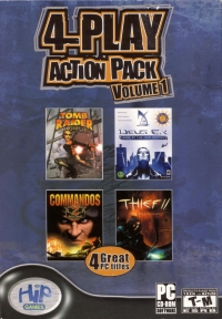 4-Play Action Pack Volume 1 Box Art