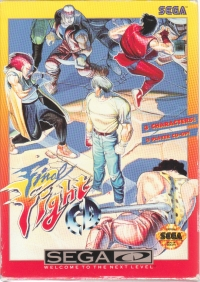 Final Fight CD Box Art