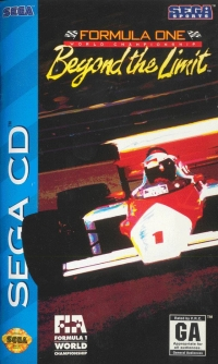 Formula One World Championship: Beyond the Limit Box Art