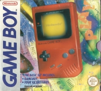 Nintendo Game Boy - Red [EU] Box Art