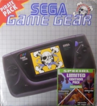 Sega Game Gear - Pirate Pack Special Limited Edition Box Art