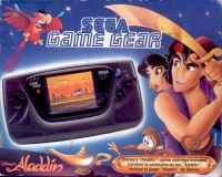 Sega Game Gear - Aladdin Box Art