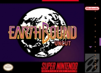 EarthBound Uncut Box Art