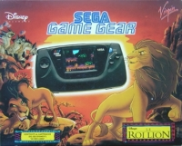 Sega Game Gear - Le Roi Lion Box Art