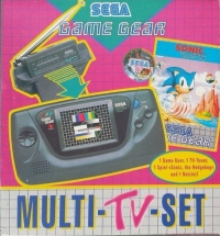 Sega Game Gear - Multi-TV-Set Box Art
