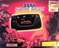 Sega Game Gear - Der Konig der Lowen Box Art