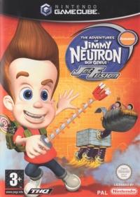 Adventures of Jimmy Neutron, The: Boy Genius - Jet Fusion Box Art