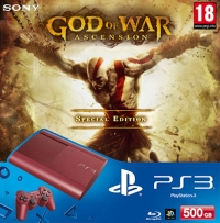Sony PlayStation 3 - God Of War: Ascension Special Edition (red) Box Art