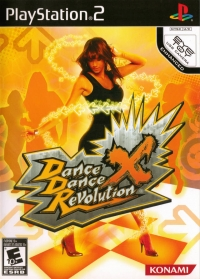 Dance Dance Revolution X Box Art