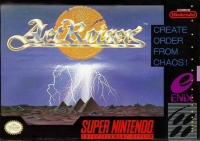 ActRaiser Box Art