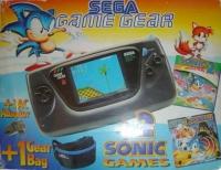 Sega Game Gear - 2 Sonic Games Box Art