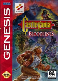 Castlevania: Bloodlines Box Art