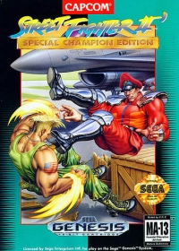 Street Fighter II - Special Champion Edition Box Art
