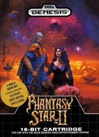 Phantasy Star II Box Art