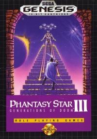 Phantasy Star III: Generations of Doom Box Art