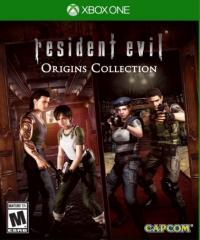 Resident Evil Origins Collection Box Art