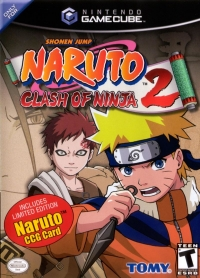 Naruto: Clash of Ninja 2 (Includes Limited Edition Naruto CCG card) Box Art