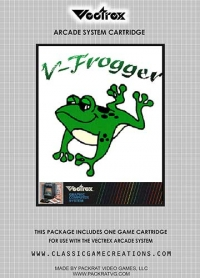 V-Frogger Box Art