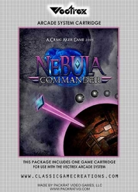Nebula Commander Box Art