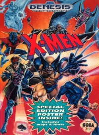 X-Men (Special Edition Poster Inside) Box Art