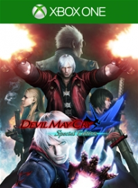 Devil May Cry 4 Special Edition Box Art