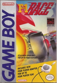 F-1 Race with Four Player Adapter Box Art