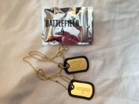 Battlefield 4 Gold Dog Tags Box Art