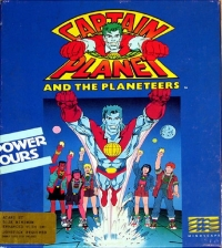 Captain Planet and the Planeteers Box Art