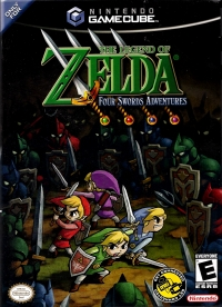 Legend of Zelda, The: Four Swords Adventures Box Art