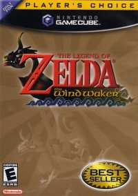 Legend of Zelda, The: The Wind Waker - Player's Choice Box Art