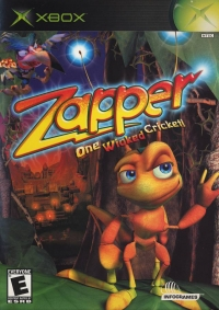 Zapper: One Wicked Cricket! Box Art