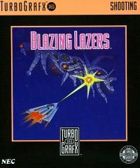 Blazing Lazers Box Art