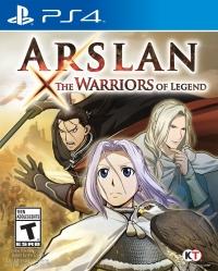 Arslan: The Warriors of Legend Box Art
