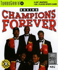 Champions Forever Boxing Box Art