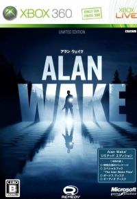 Alan Wake - Limited Edition Box Art