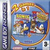 2 Games in 1: Sonic Advance + Sonic Pinball Party [FR] Box Art