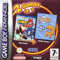 2 Games in 1: Sonic Battle + ChuChu Rocket! Box Art