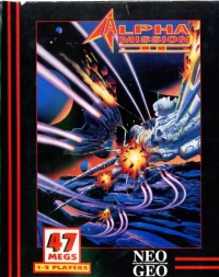 Alpha Mission II Box Art