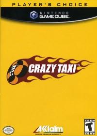 Crazy Taxi - Player's Choice Box Art