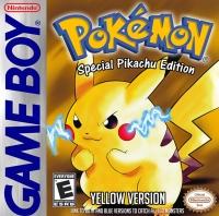 Pokémon: Yellow Version - Special Pikachu Edition (black ESRB) Box Art