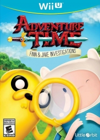 Adventure Time: Finn & Jake Investigations Box Art