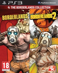 2K The Borderlands Collection: Borderlands + Borderlands 2 Box Art