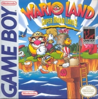 Wario Land: Super Mario Land 3 Box Art