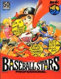 Baseball Stars Professional Box Art