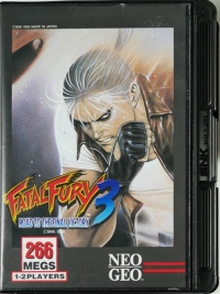 Fatal Fury 3: Road to the Final Victory Box Art