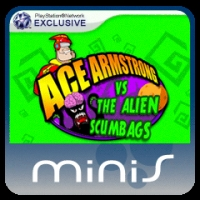 Ace Armstrong vs. the Alien Scumbags! Box Art
