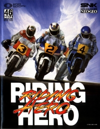 Riding Hero Box Art