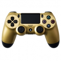 PlayStation 4 Dualshock 4 Wireless Controller - Gold Box Art